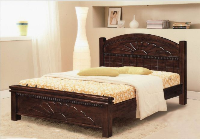 A Queen Wooden Bed My Dream I Wish To Get One Really Soon As Still Sleep In Little S