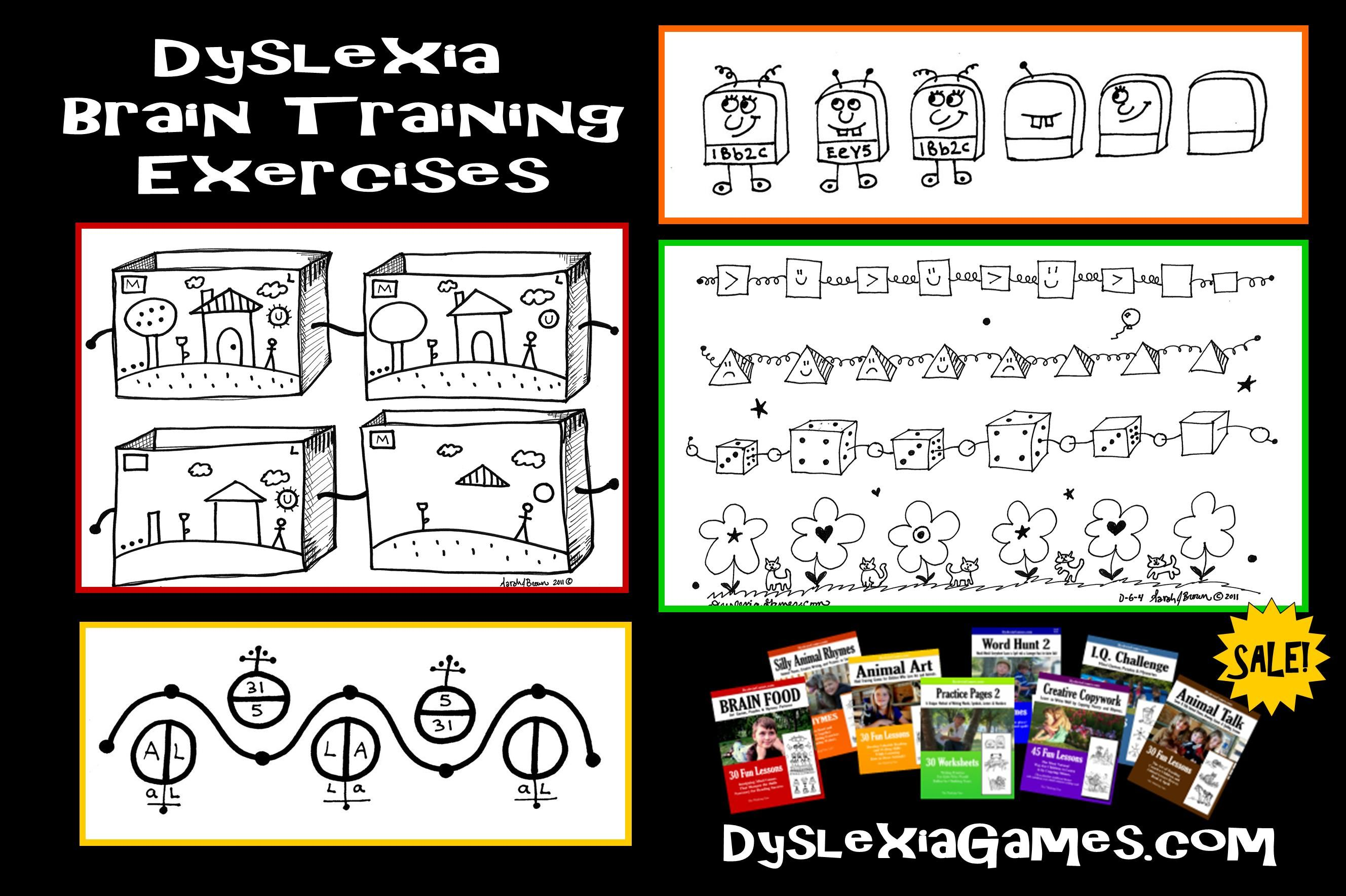 Dyslexia Try Our Brain Training Exercises Games And Fun