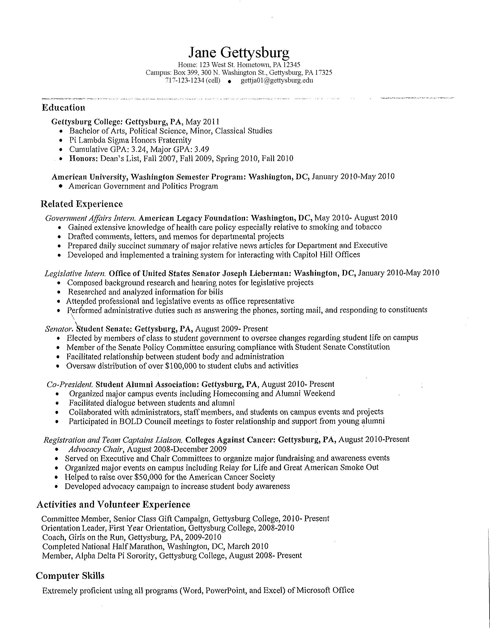 student resume resume and high school students on pinterest