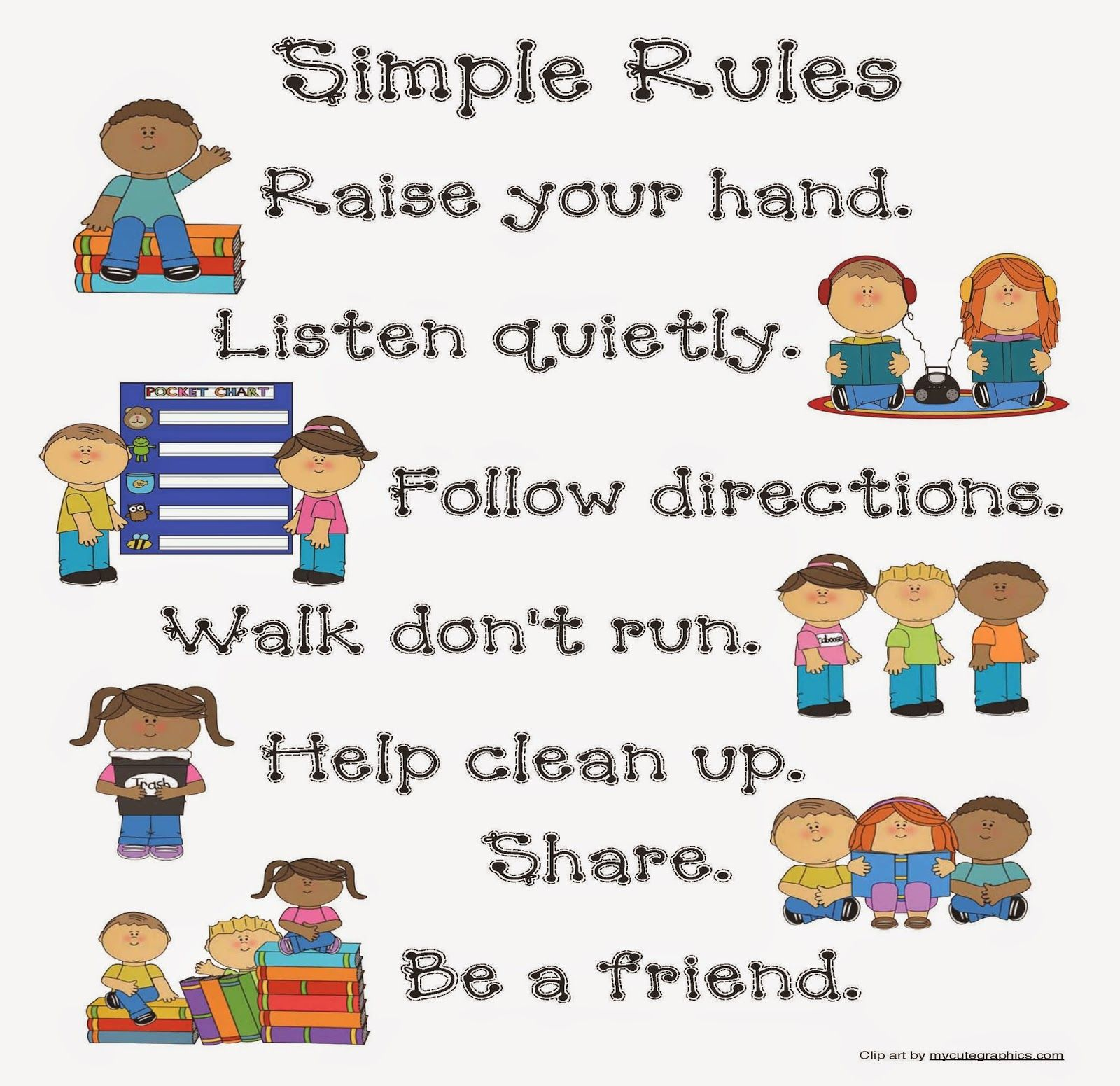 Remix Of Classroom Rules Follow The Rules Responsibility