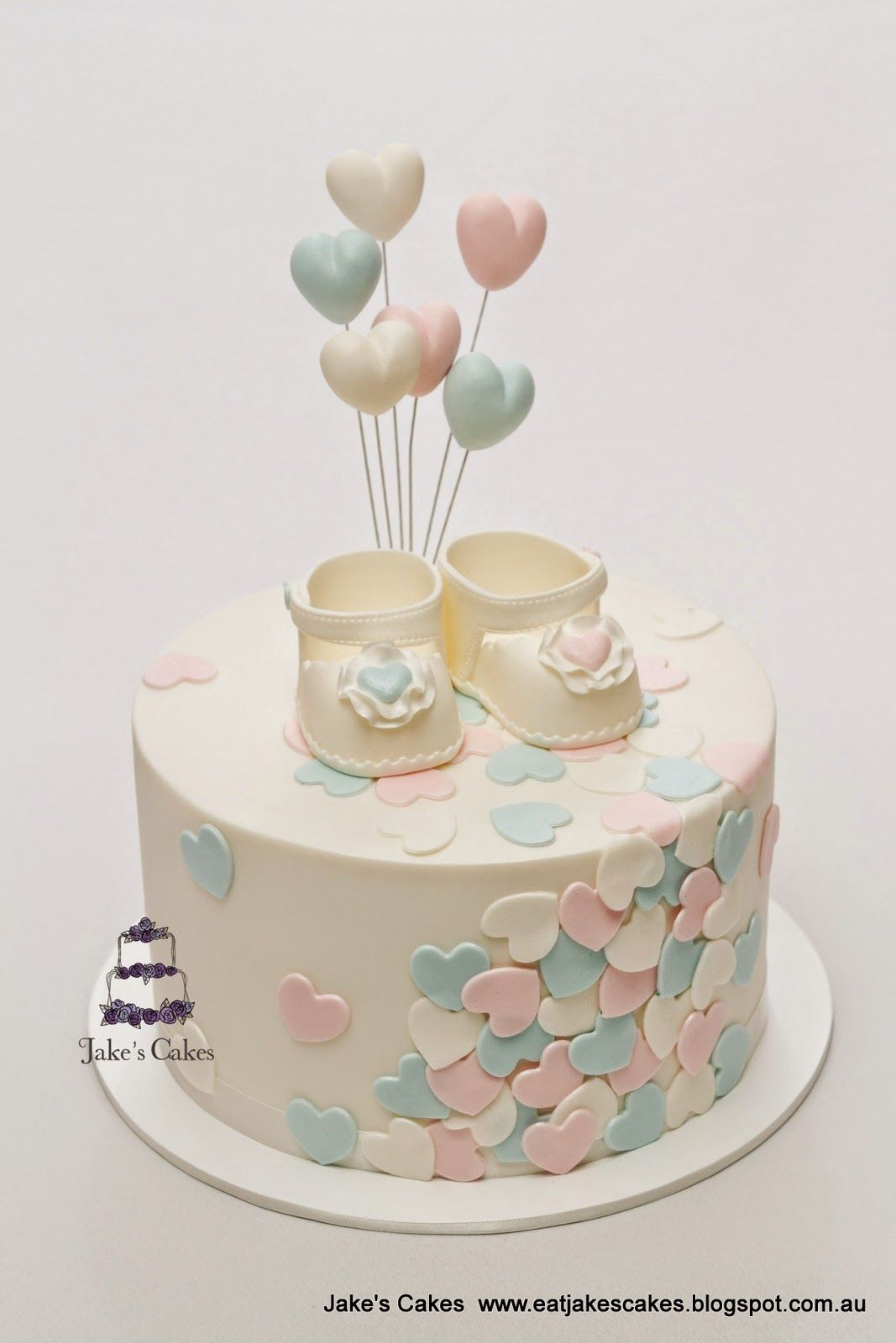 Best 25 Simple Baby Shower Cakes Ideas