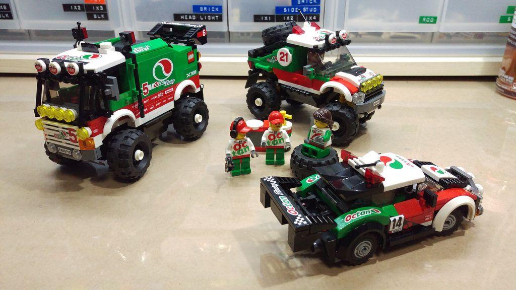 "lego mod ""Octan racing "" rally car. Flickr Favorites"