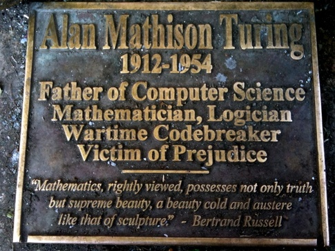 Alan Turing Father of Computer Science Quotes and pics