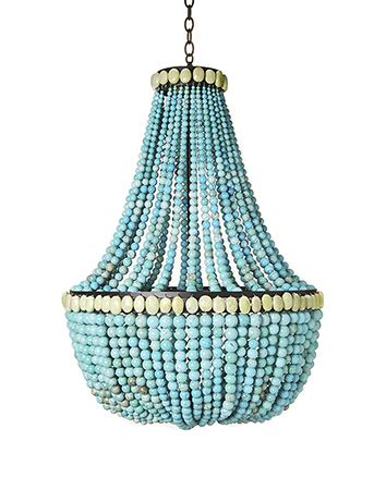 I Will Always Love This Skouras Turquoise Chandelier Make A Beaded