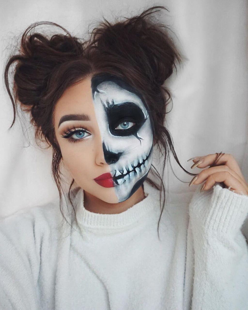 71 Inspiring Halloween Makeup Ideas to Makes You Look