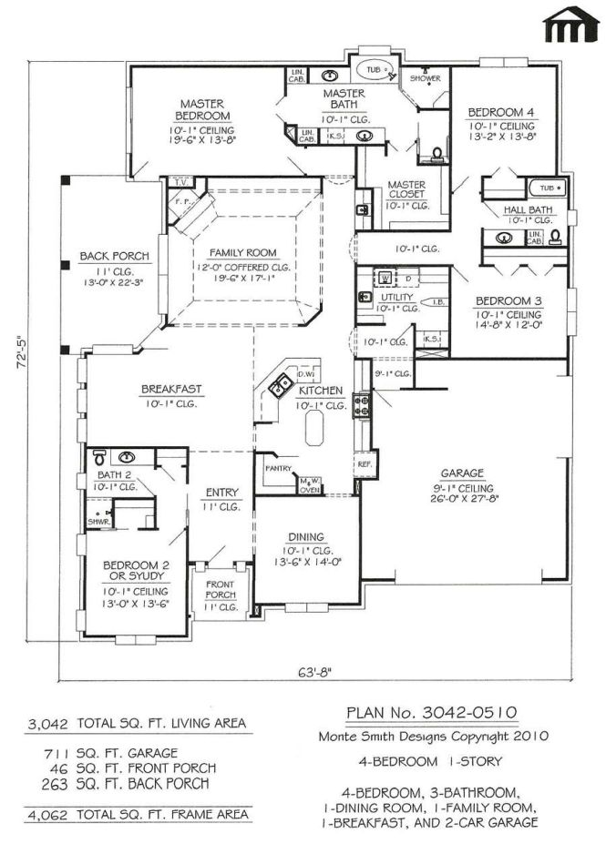 39333875779e3023391fbc722430ee0a 1 Story House Plans With 2 Car Garage On Images About Pinterest