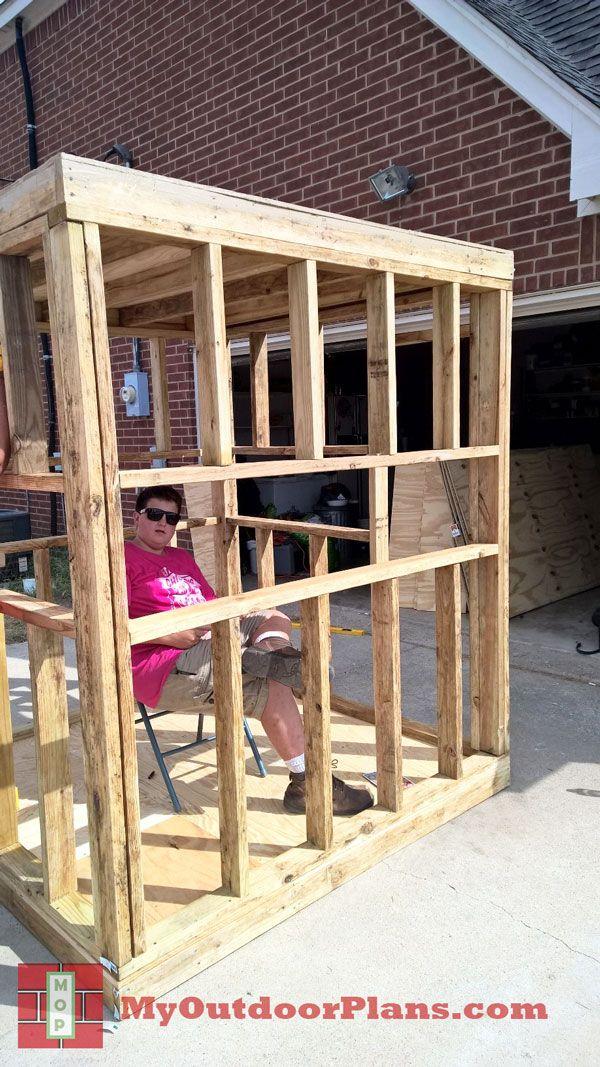 DIY Deer Blind MyOutdoorPlans Free Woodworking Plans