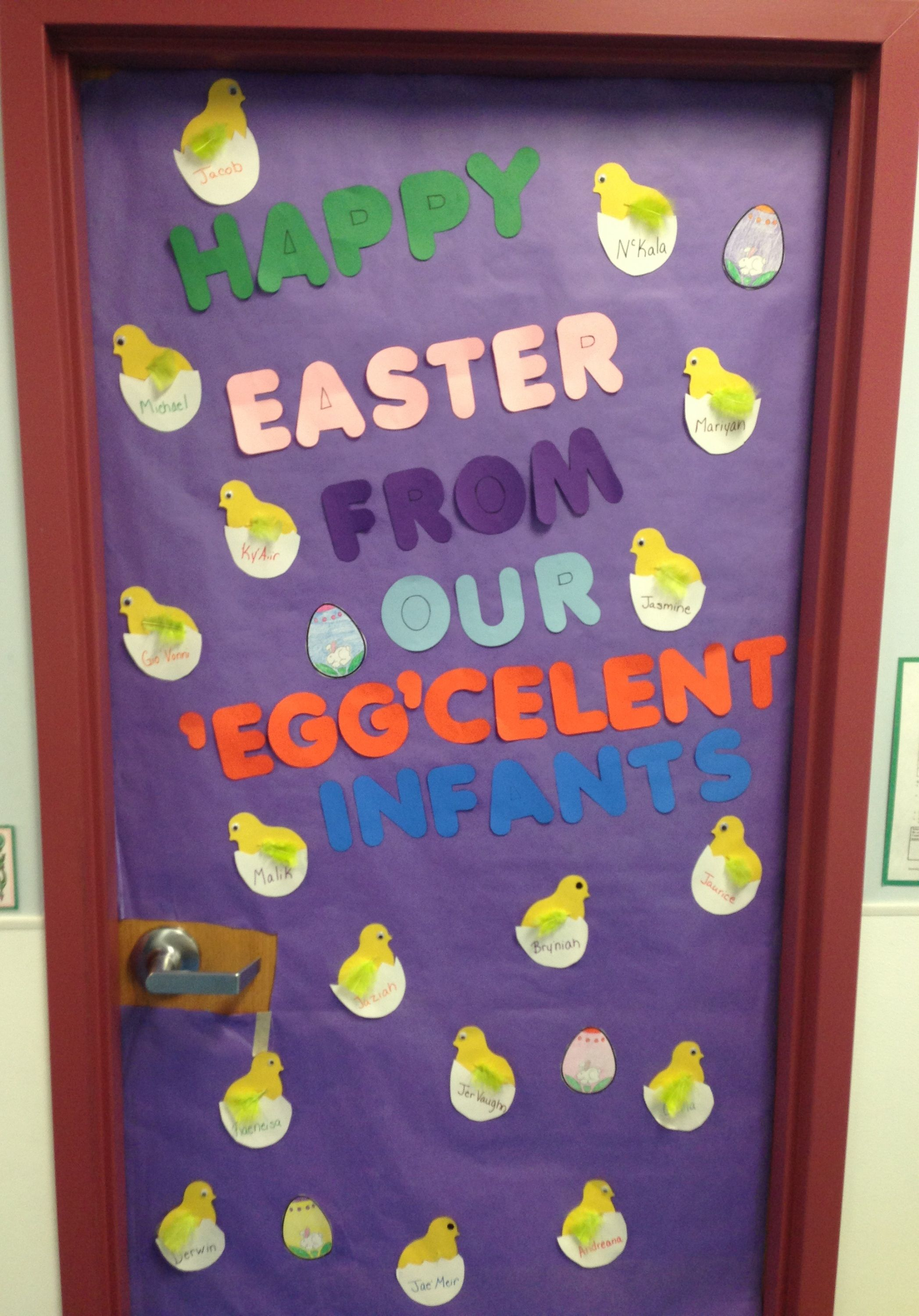 Happy Easter From Our Egg Celent Infants