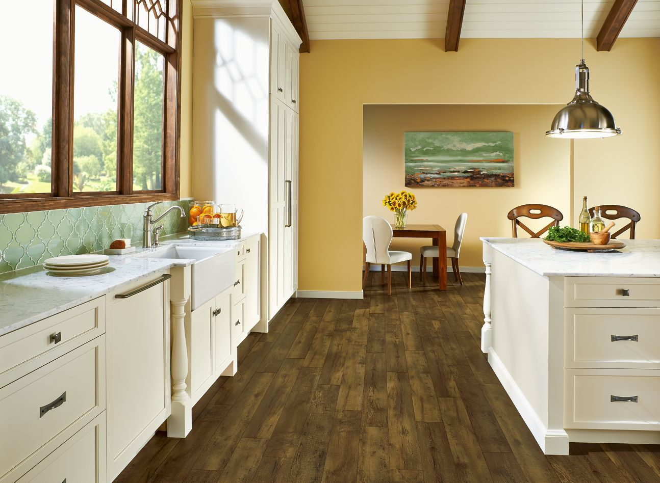 Armstrong Luxury Vinyl Plank Flooring LVP Farmhouse