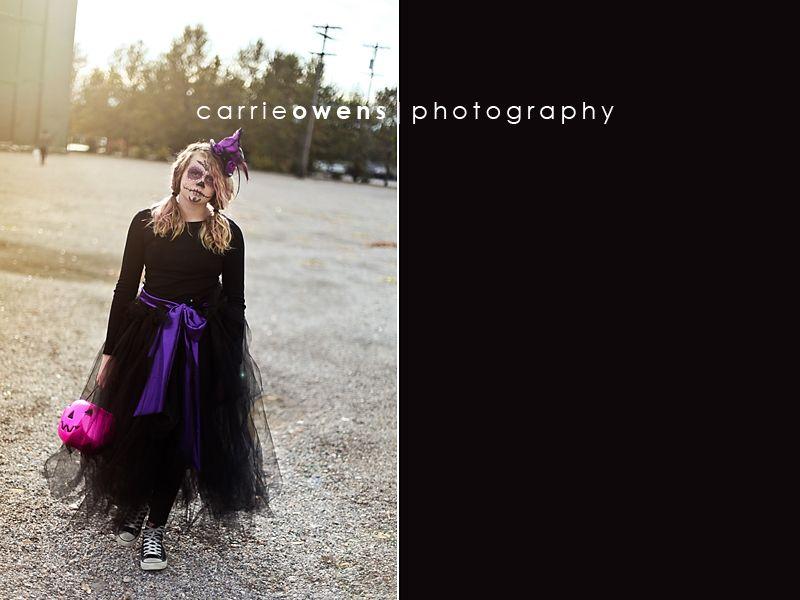 salt lake city utah photographer halloween costume sugar skull