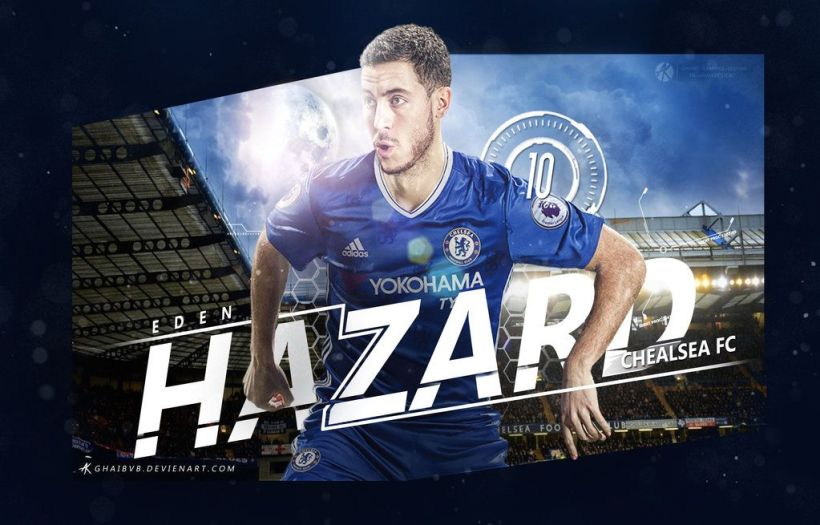 Eden Hazard Wallpaper Chelsea Fc 2017 17 By Ghanibvb
