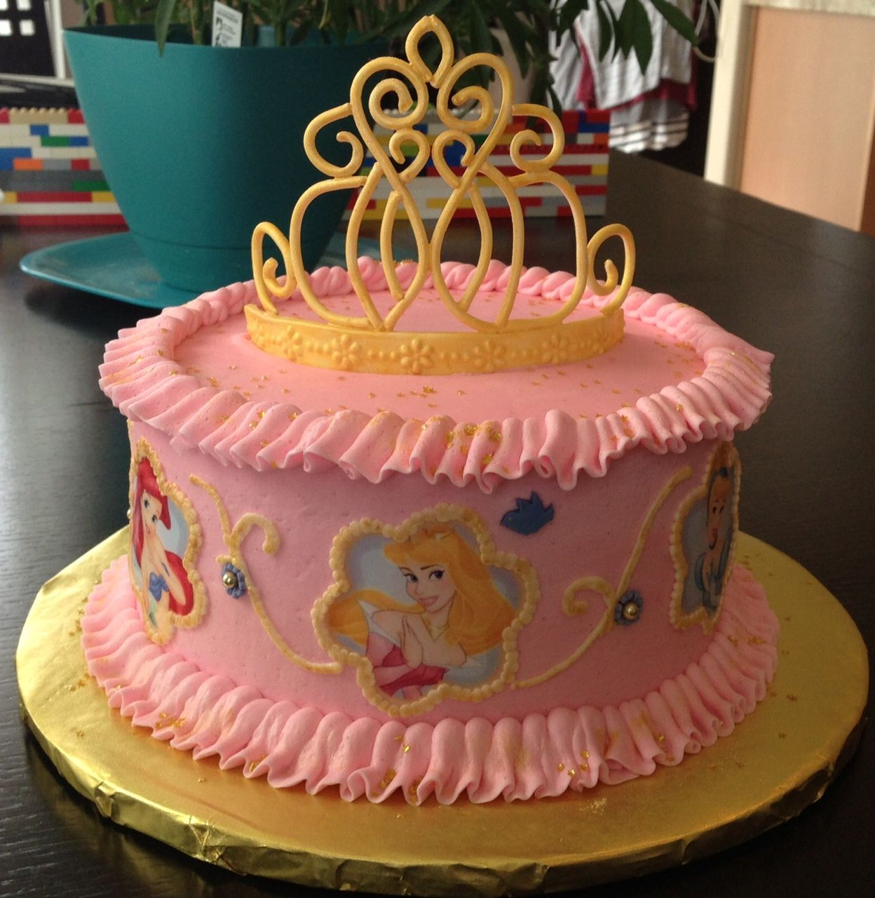 Disney Princess Cake Gumpaste Tiara