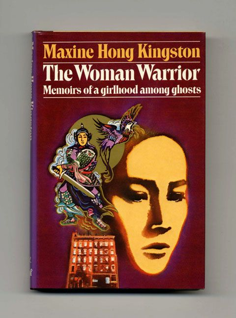 vintage The Woman Warrior book cover