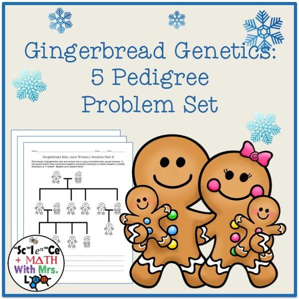 Gingerbread Genetics Pedigree Challenge Problem Set