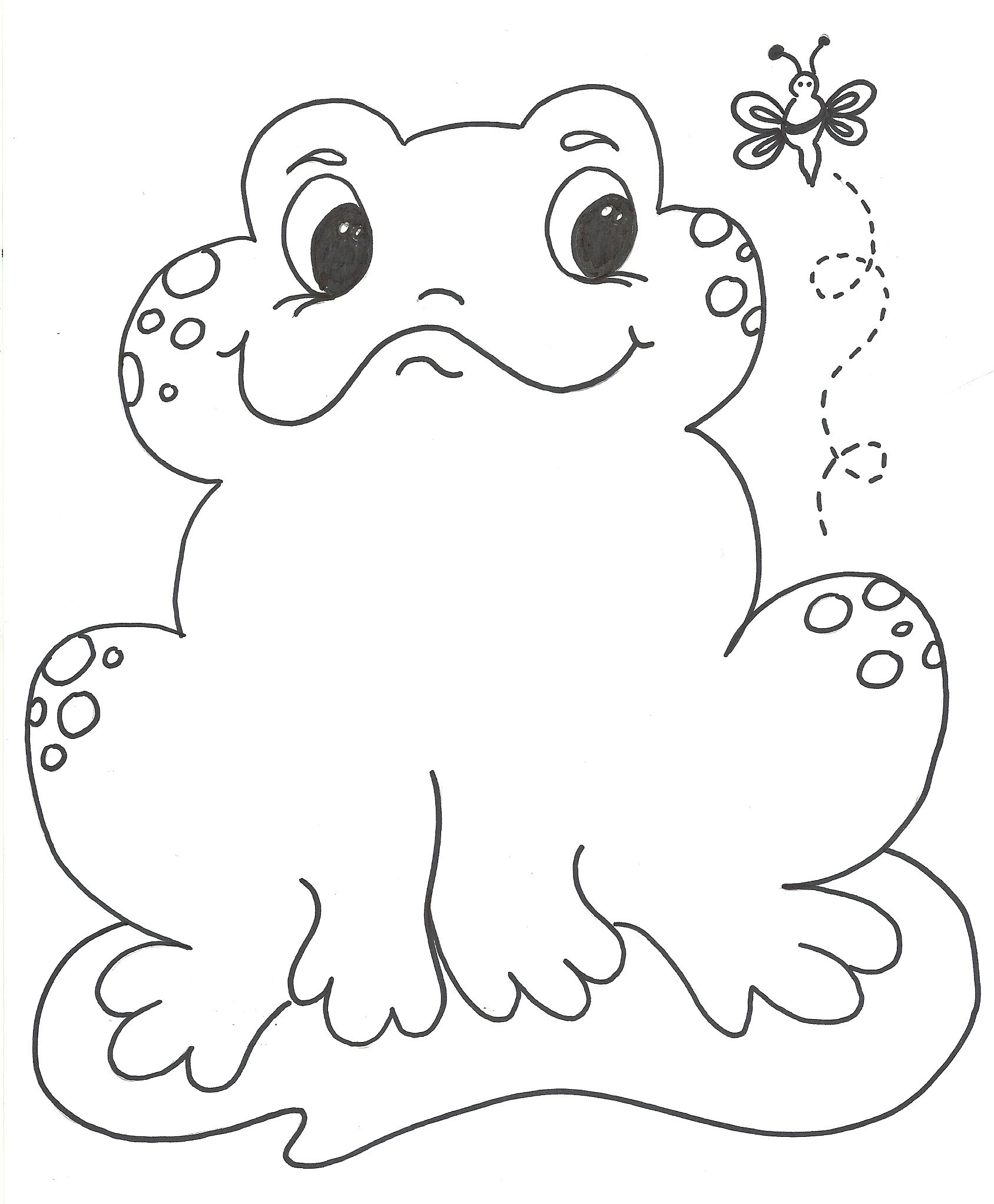 coloring pictures of frogs for kids Google Search Kid