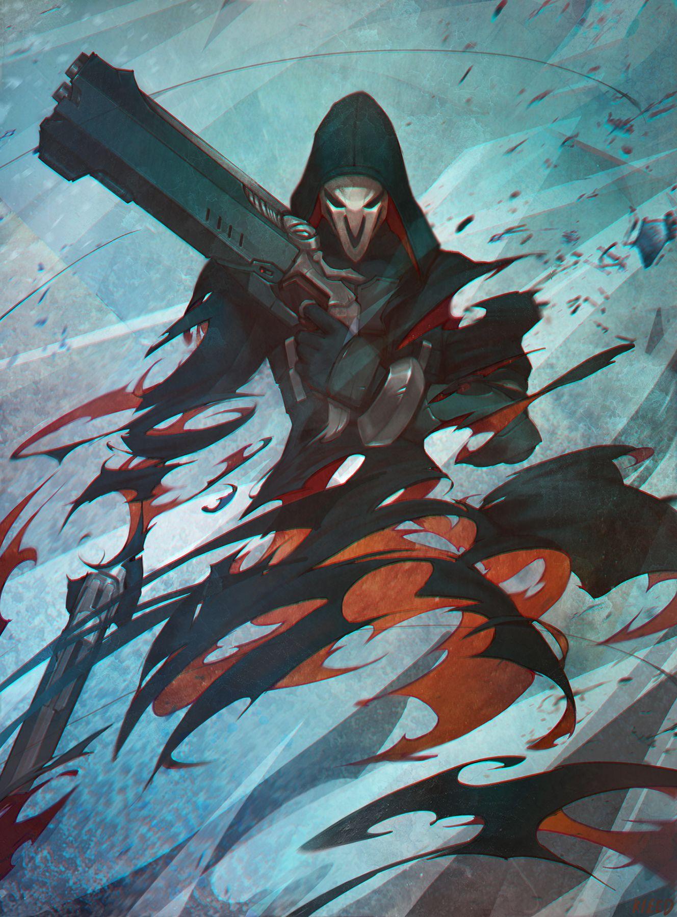 Reaper kieed pixiv Overwatch Pinterest Overwatch