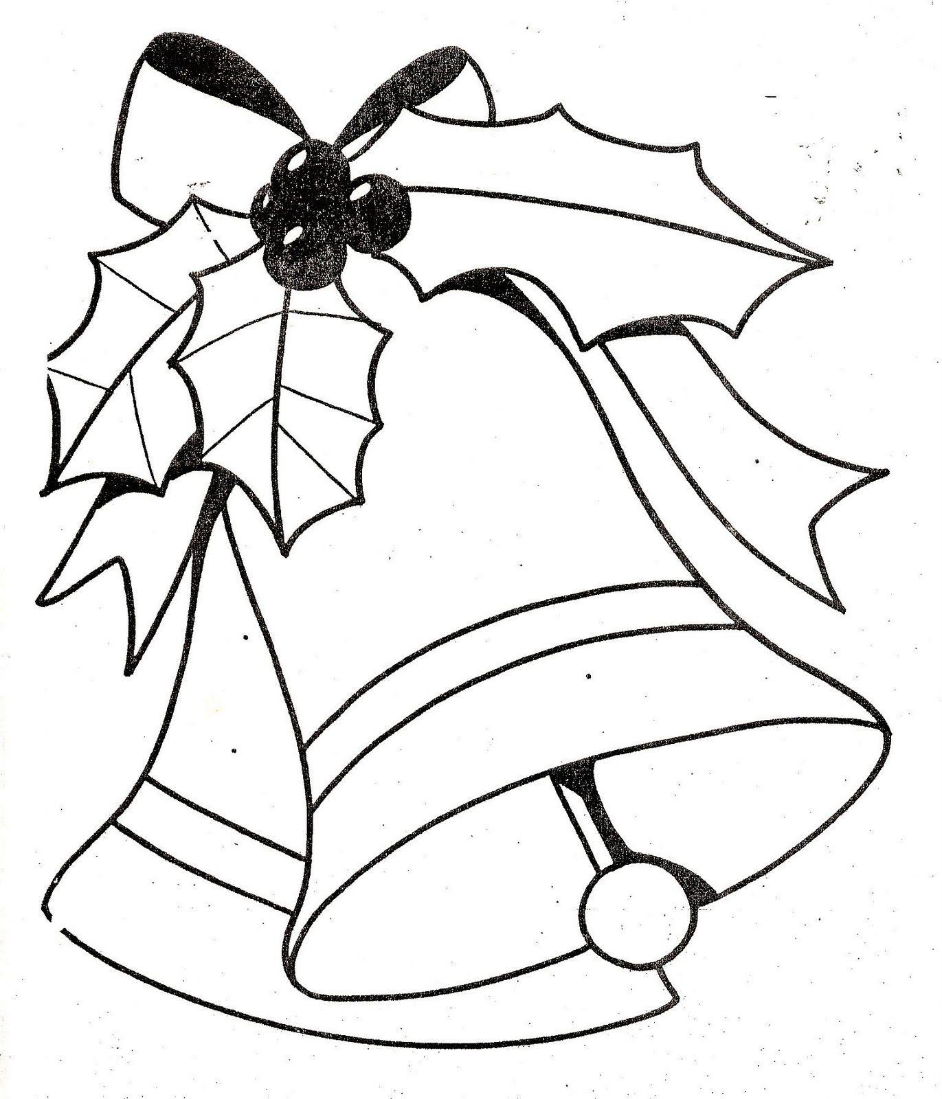 Maestra De Infantil Campanas De Navidad Para Colorear