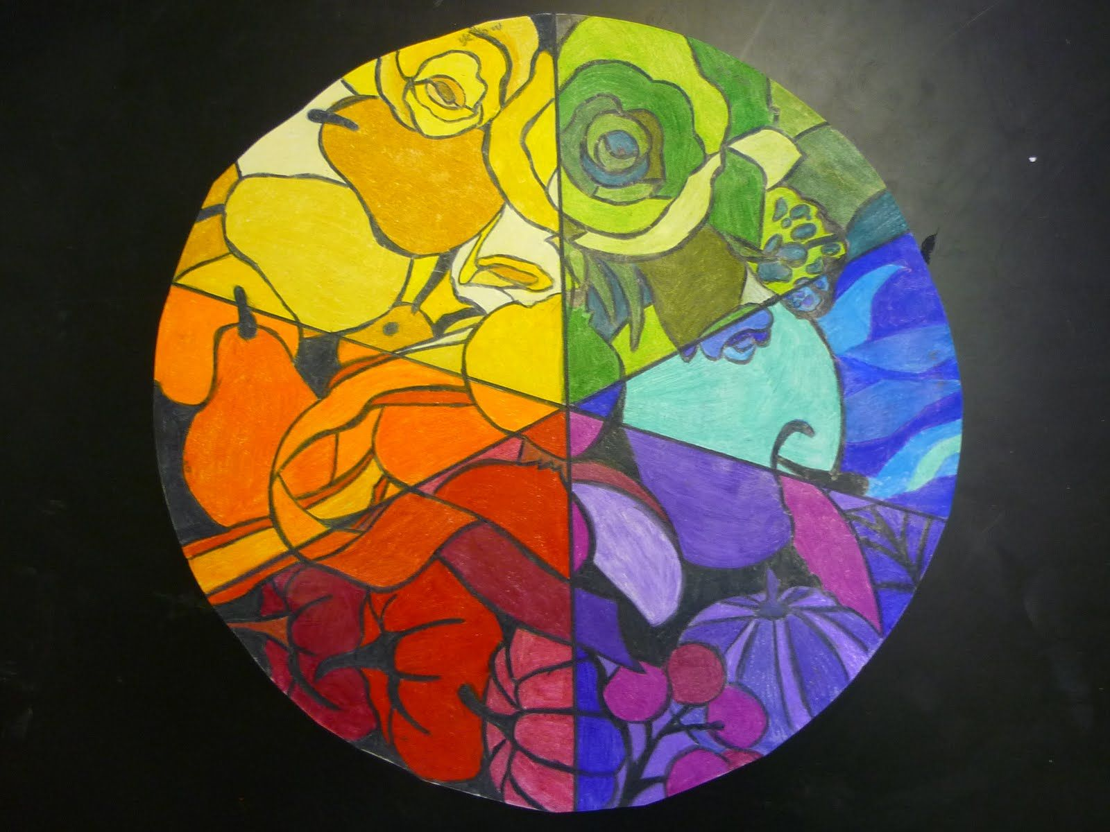 Color Wheel Art Projects