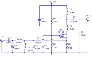 tv antenna booster circuit | Electronics | Pinterest | A