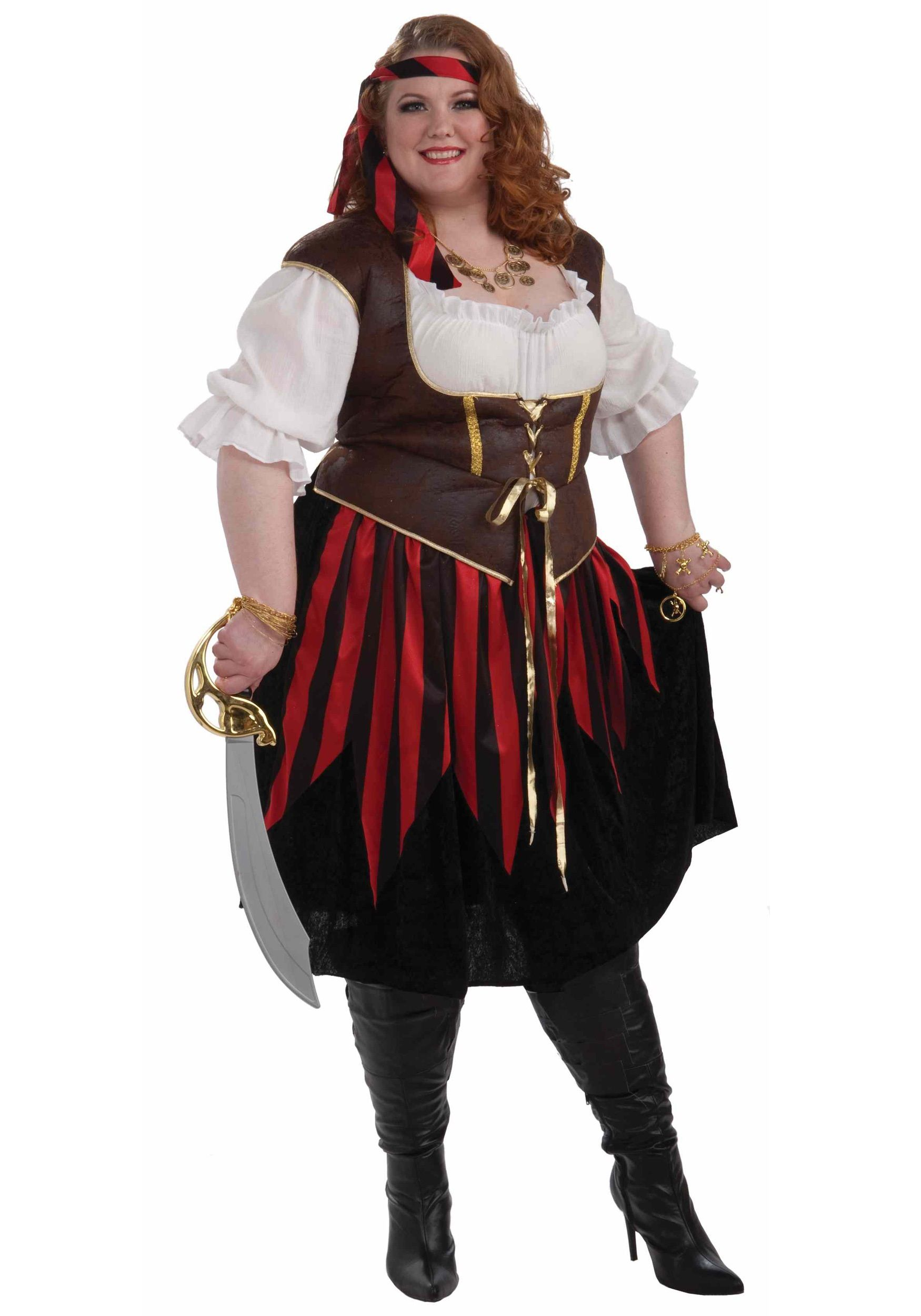 Plus Size Pirate Lady Costume sewing Pinterest