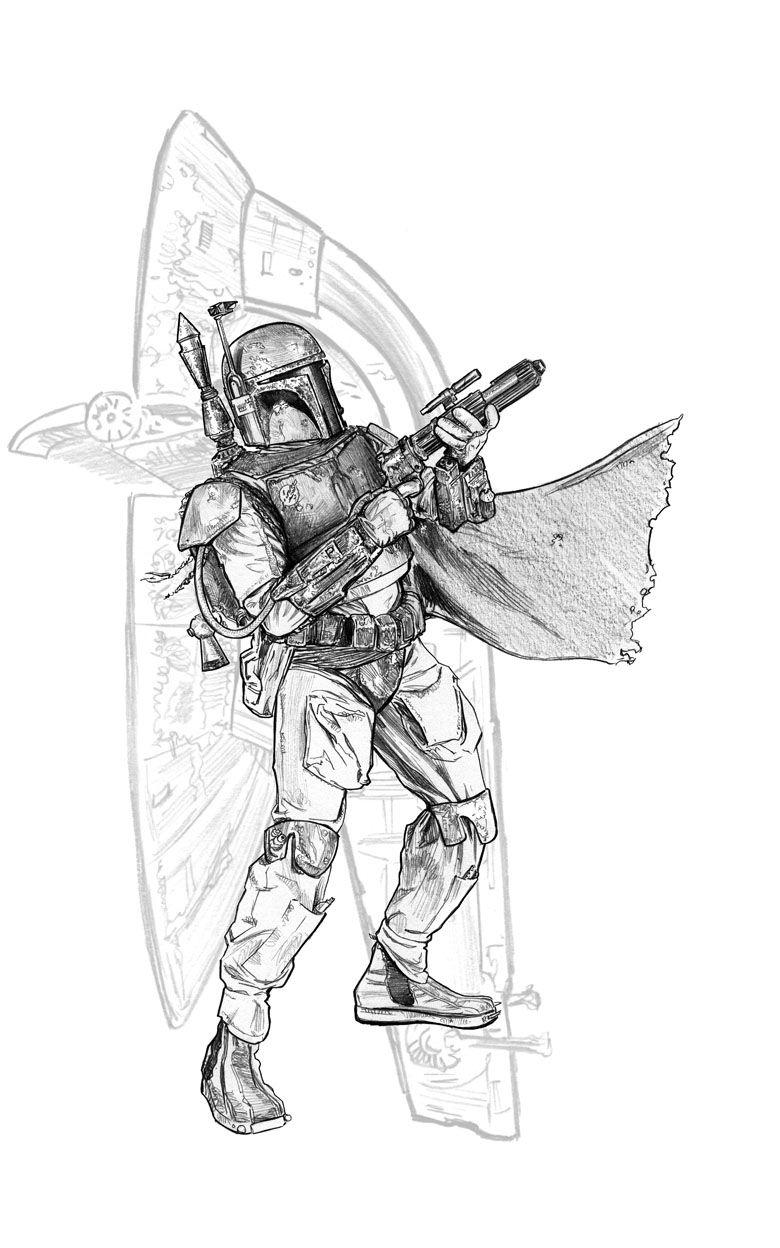 Star Wars Boba Fett by Jason Palmer Star Wars
