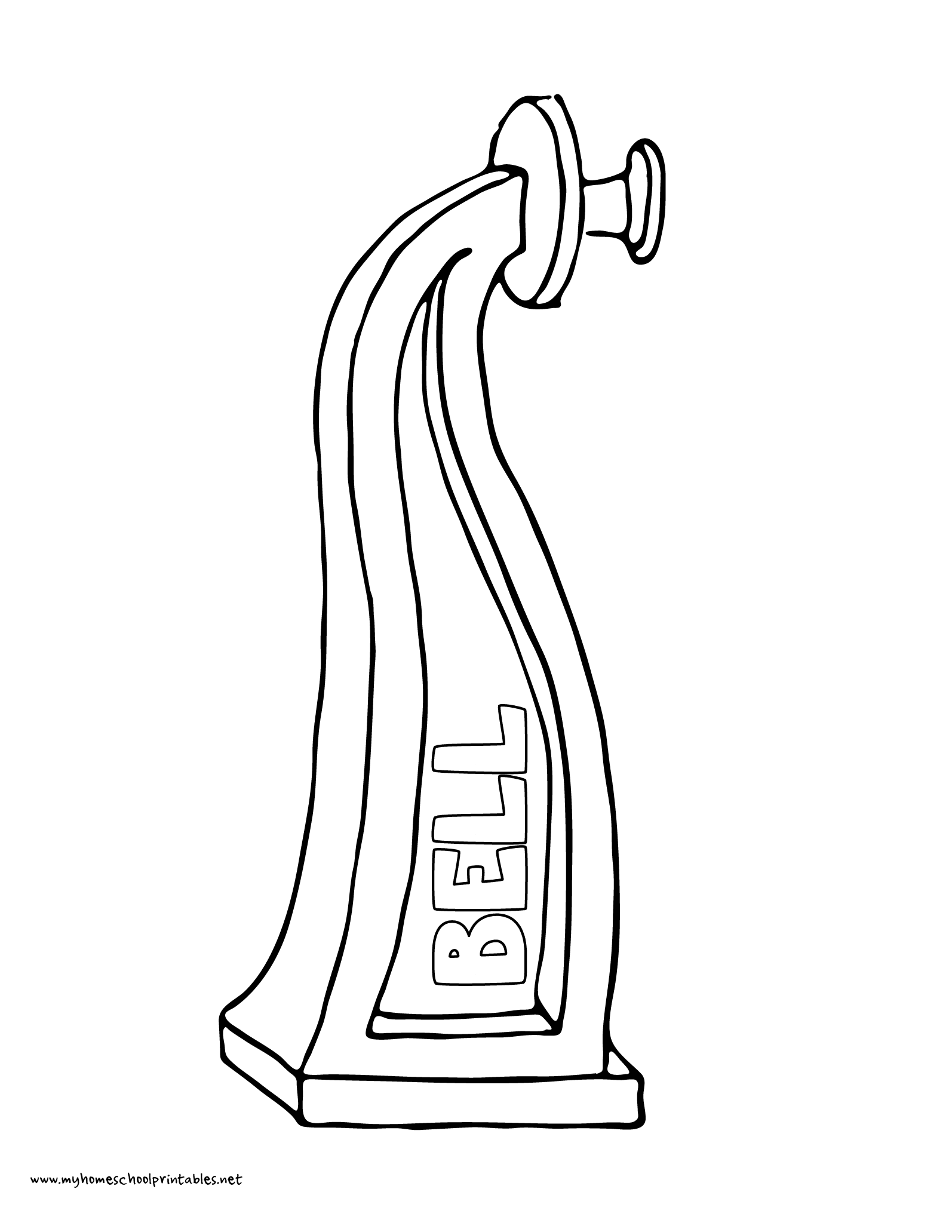 World History Coloring Pages Printables Alexander Graham Bell First Telephone
