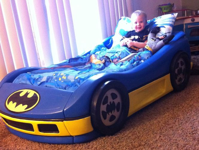 Diy Kids Batman Car Bed Unique Designs 9 Fantastic Decoration Toddler Bedding