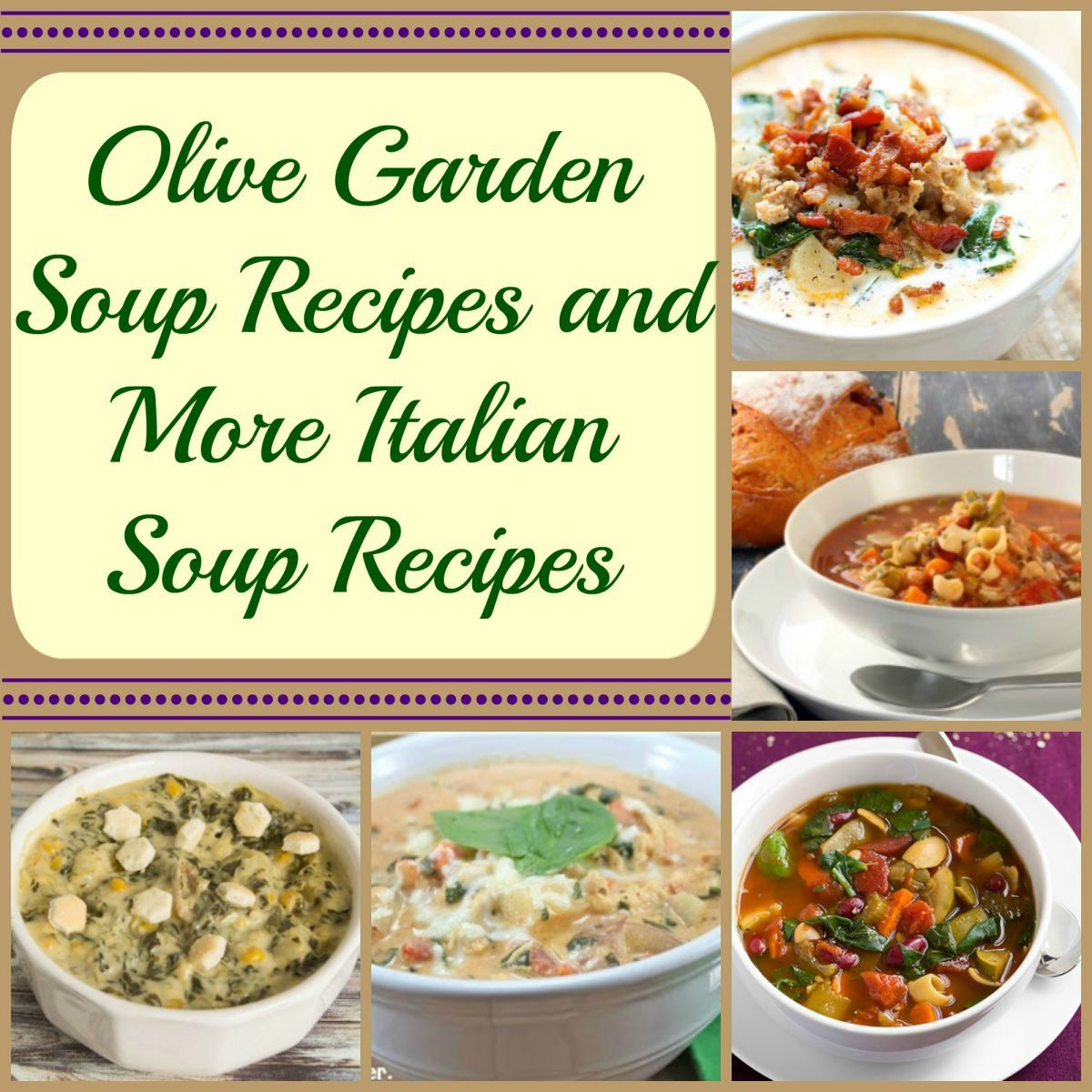 11 Olive Garden Soup Recipes Olive garden copycat