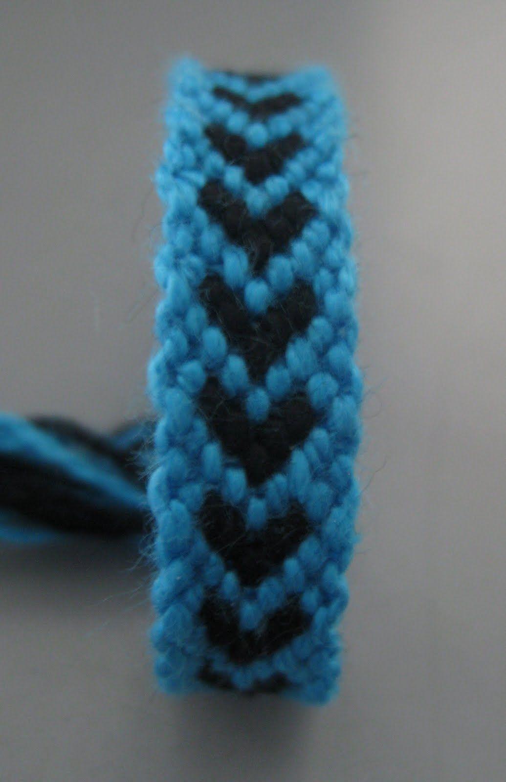 Do It Yourself Hearts Friendship Bracelets Easy Tutorial