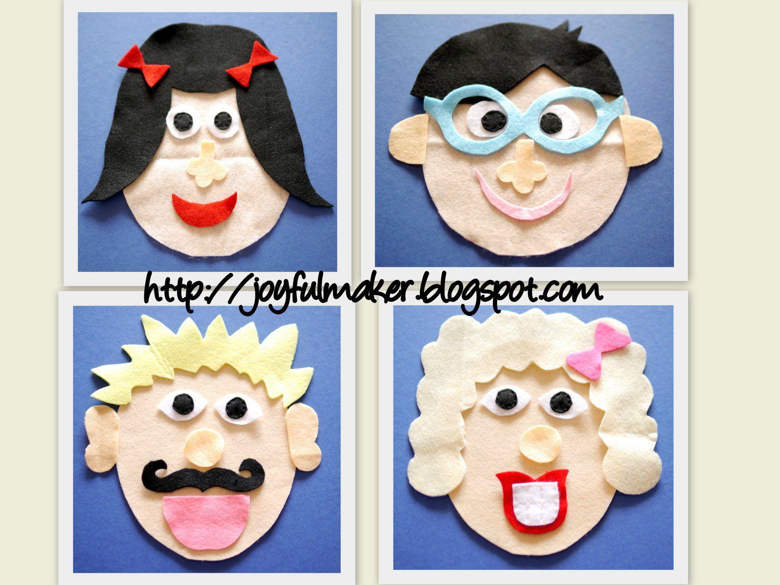 Felt Faces