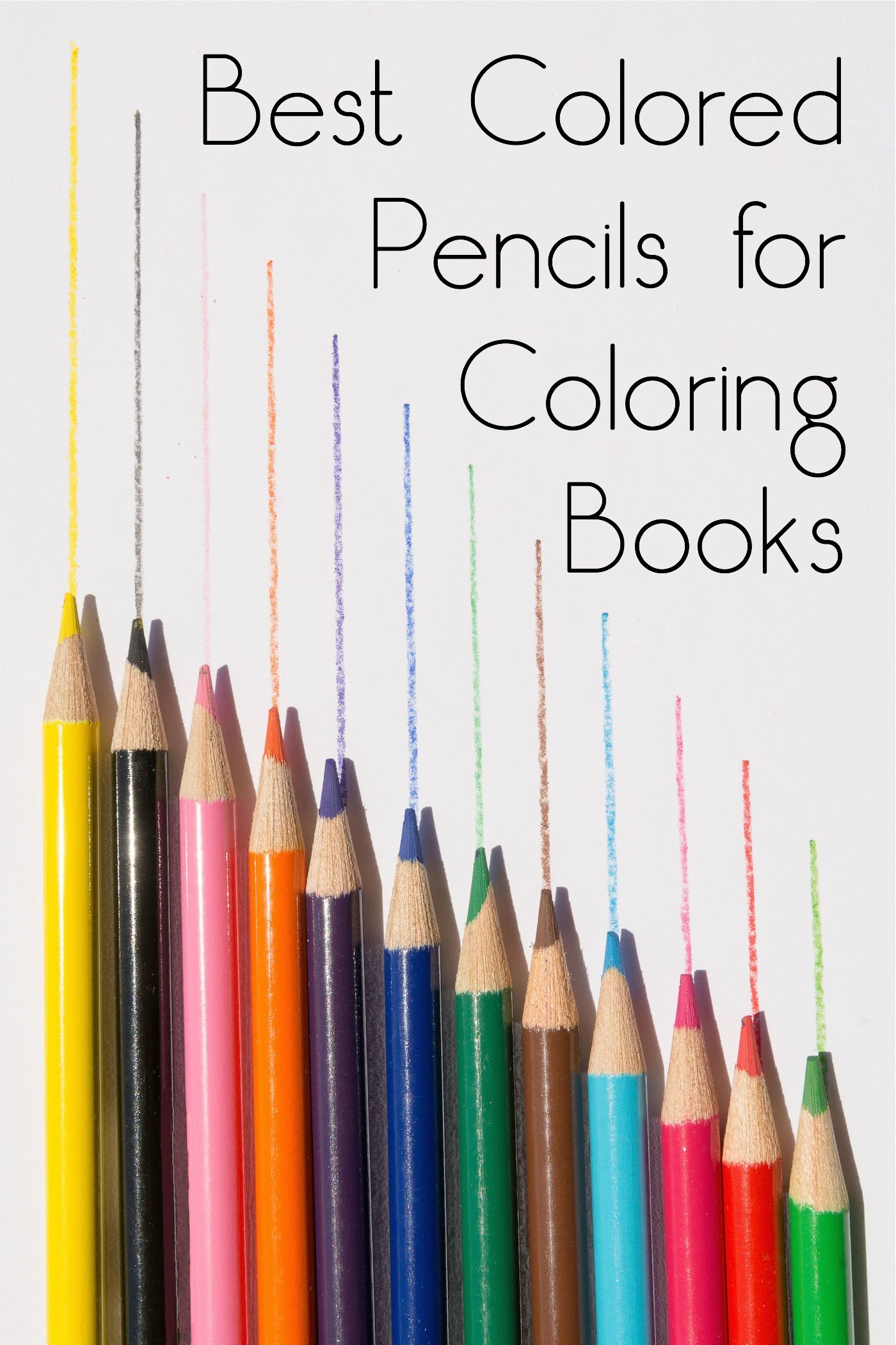 Best Colored Pencils For Coloring Books