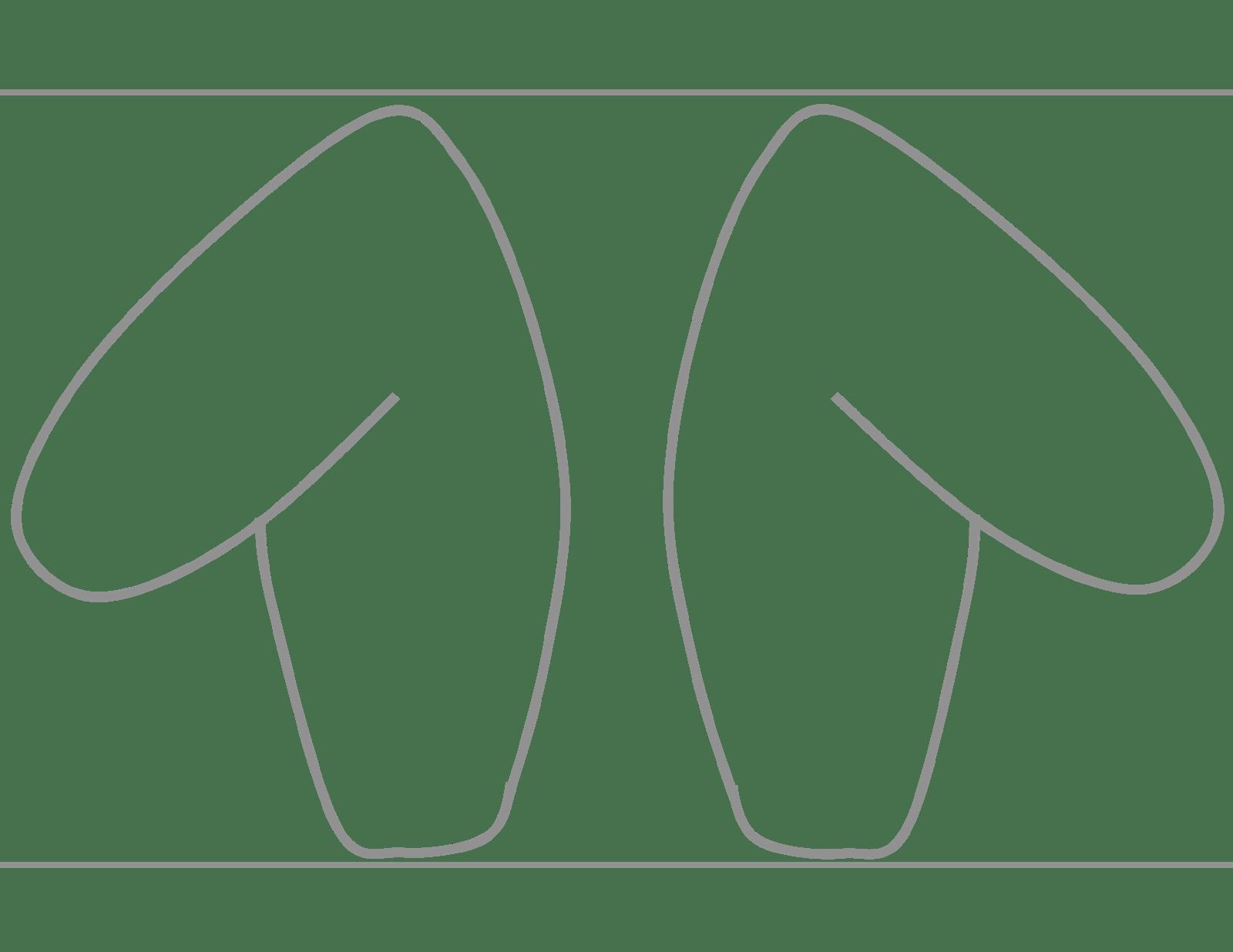 Free Diy Printable Rabbit Ear Template