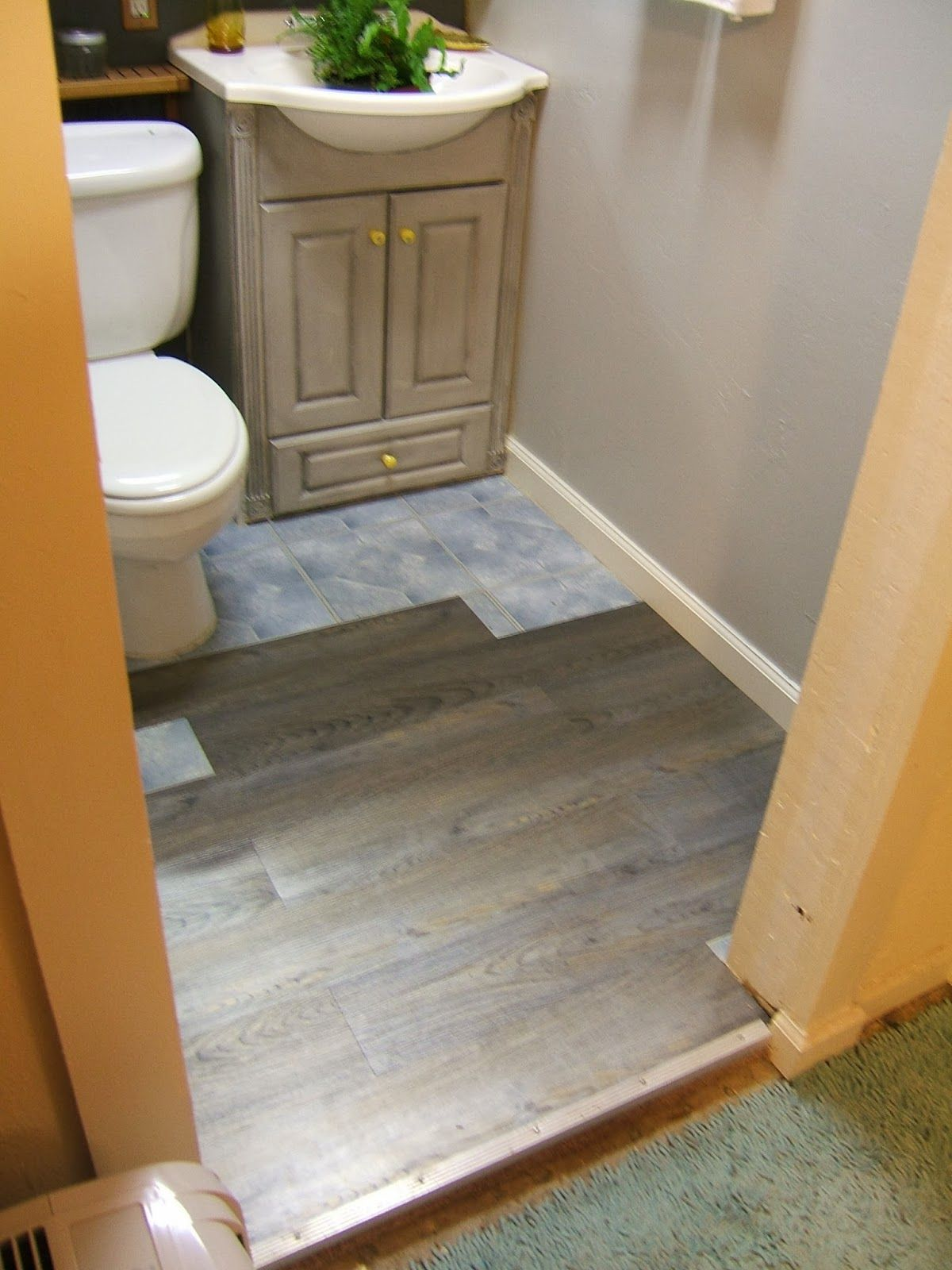 Flooring from Nine Red. How to cut tile to fit around