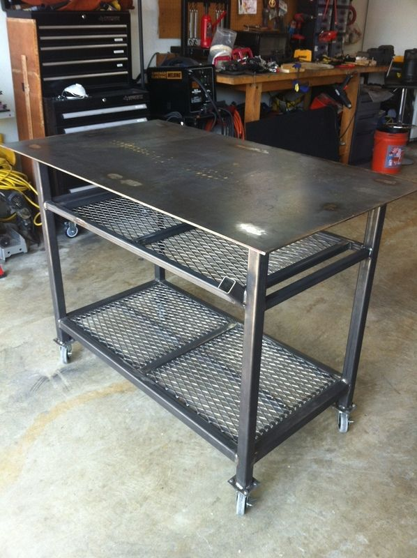 Welding Table On Pinterest Welding Projects Welding And