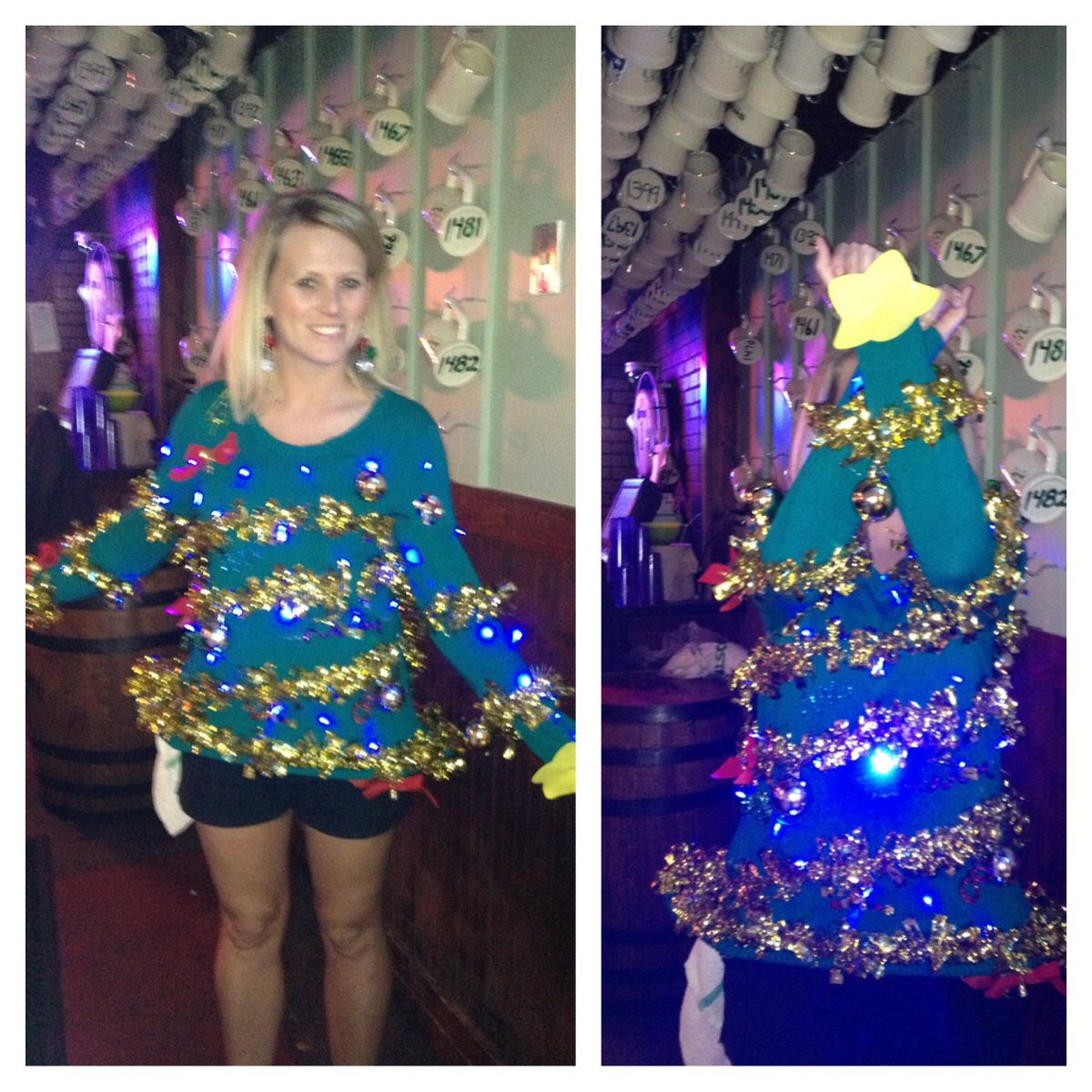 EXTRA creative Ugly Christmas Sweater awesome! Put your