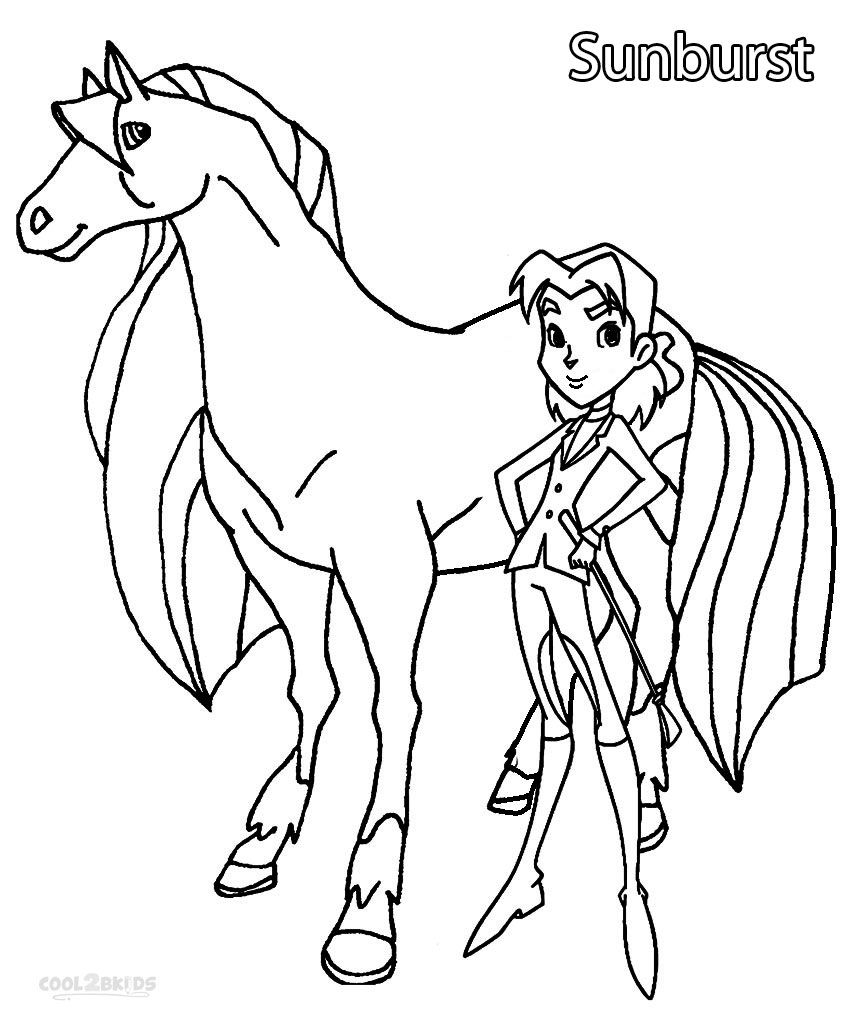 Colorings Co Coloring Pages For Girls Horseland Coloring