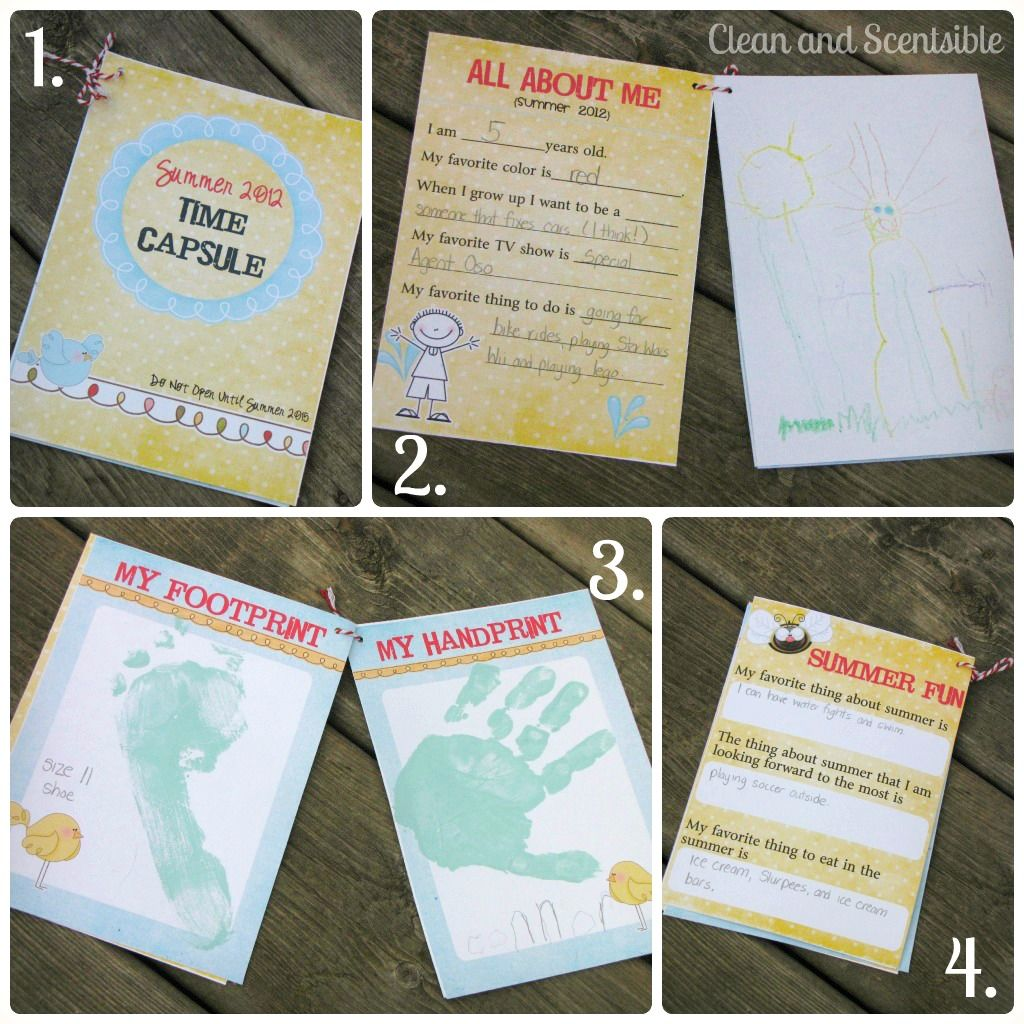 Clean Amp Scentsible Summer Time Capsule Free Printables