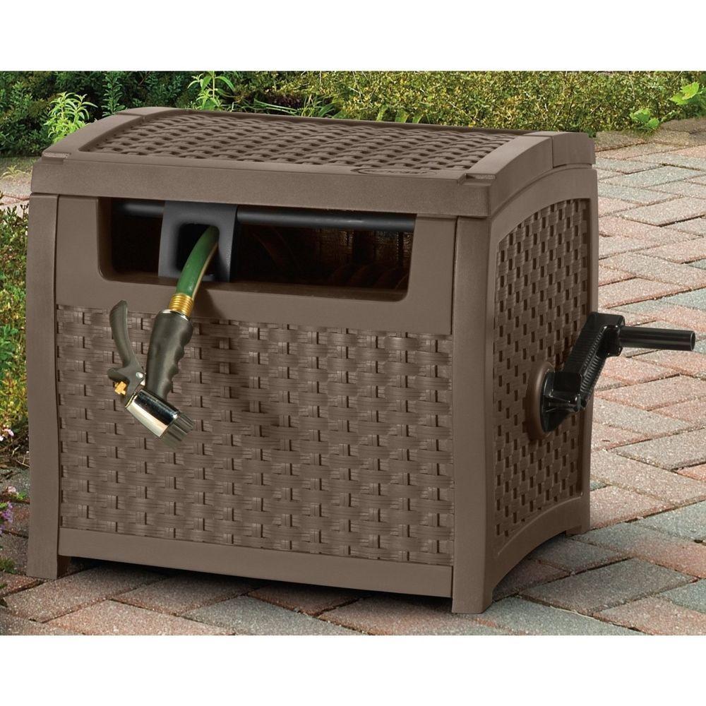 Suncast Garden Water Hose Reel Cart Hideaway Storage Cover