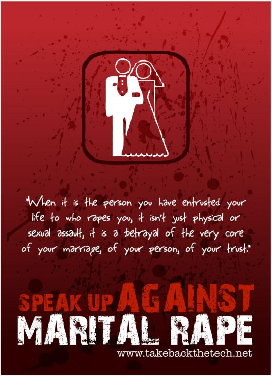Image result for marital rape poster