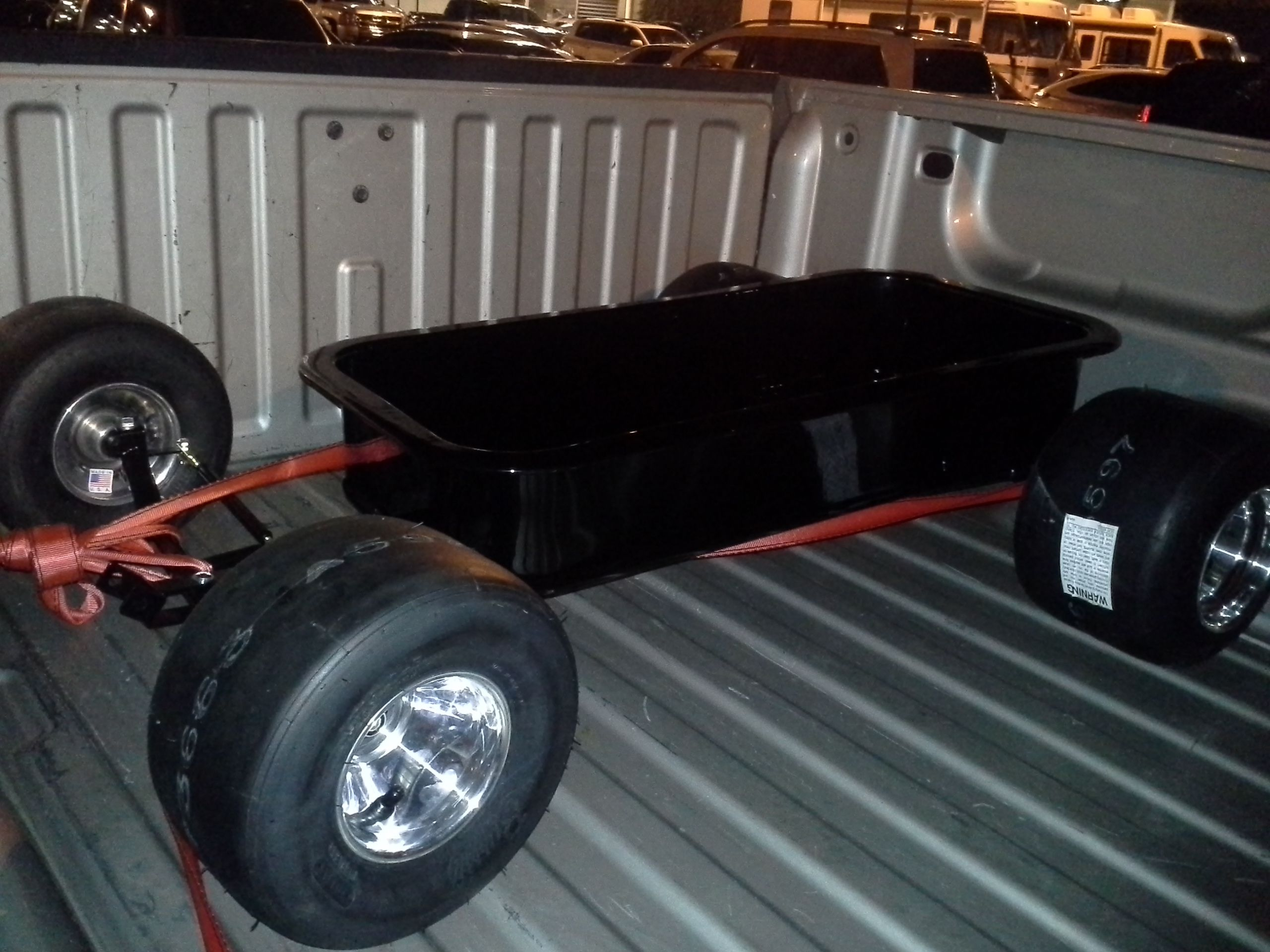 Black LowRider Wagon by Baja Wagon Custom wagons