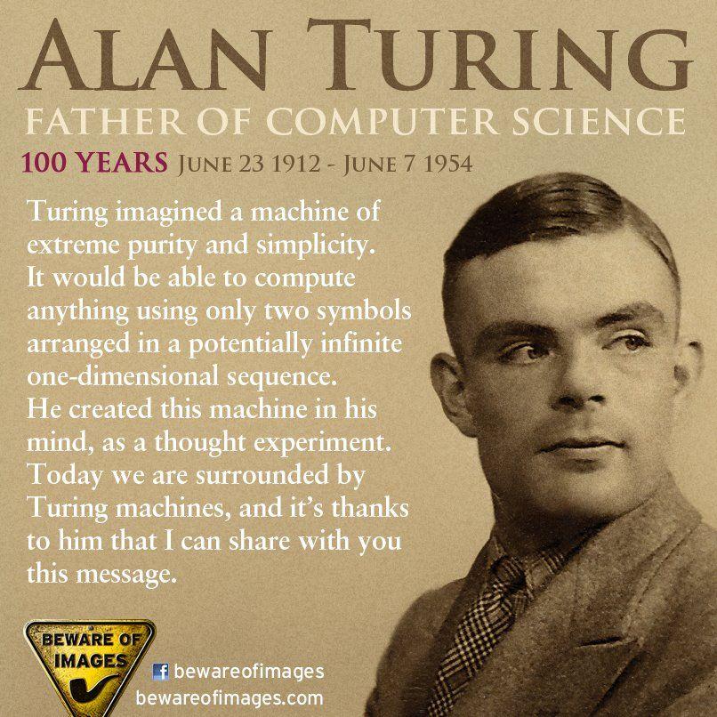 Alan Mathinson Turing. English Mathematician, Logician