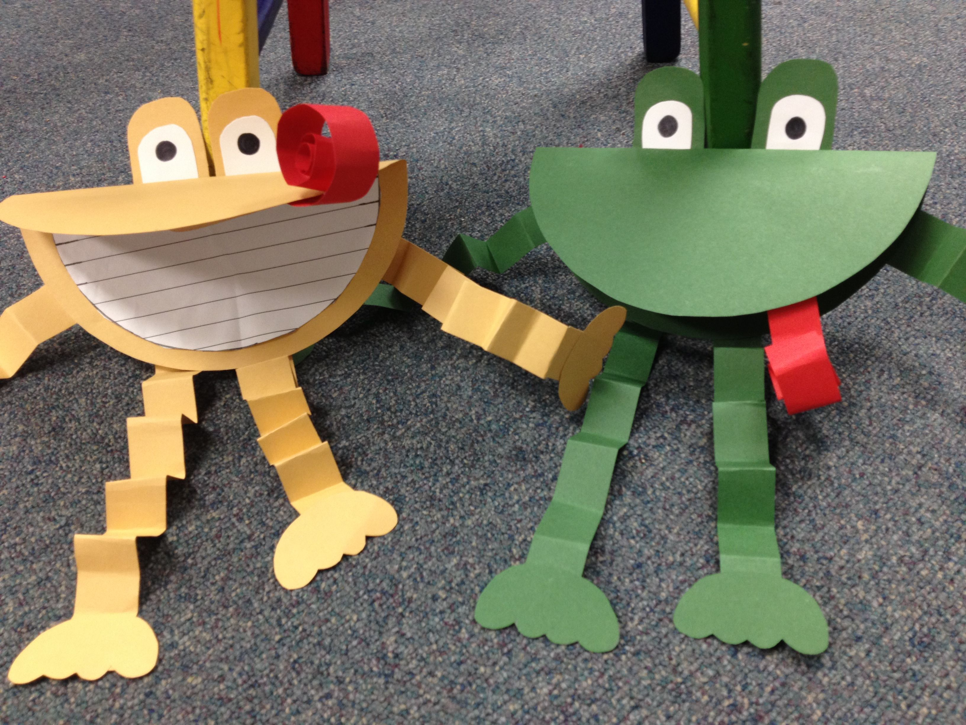 Frog And Toad Compare And Contrast Writing