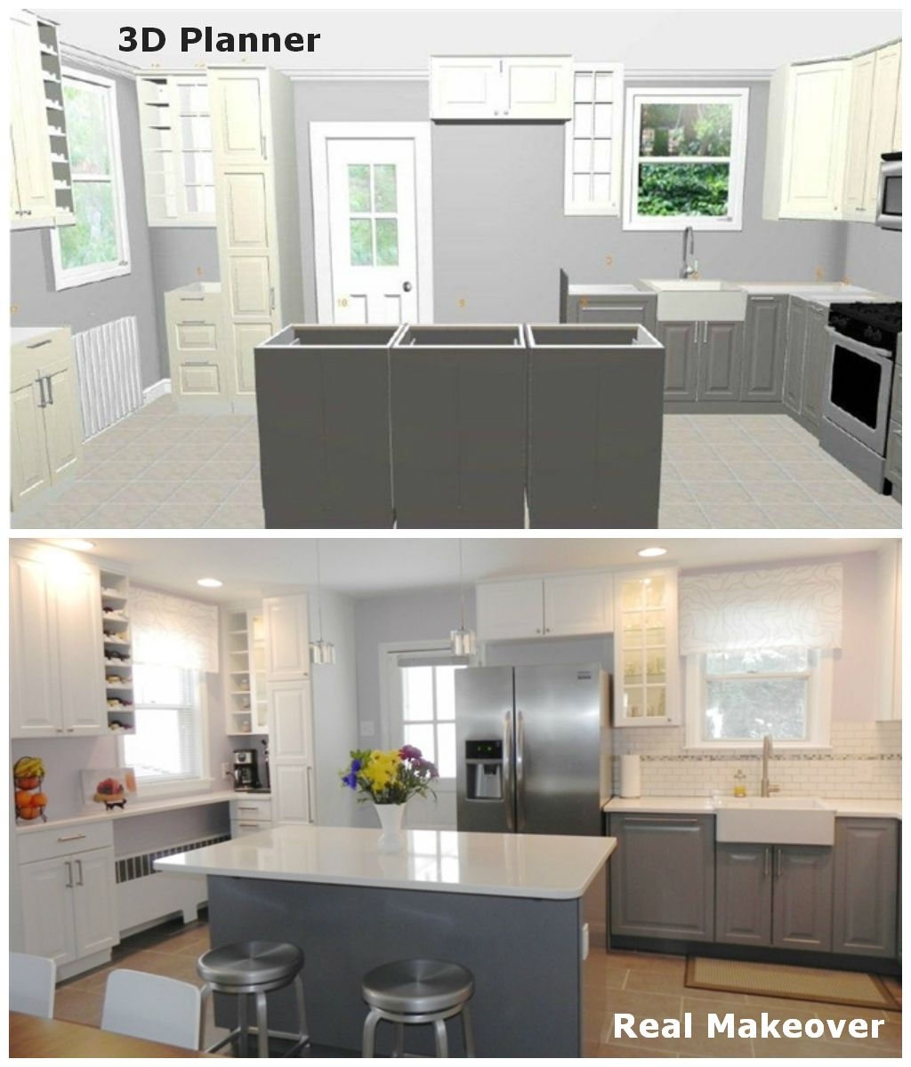 This IKEA blogger created her dream kitchen in IKEA 3D