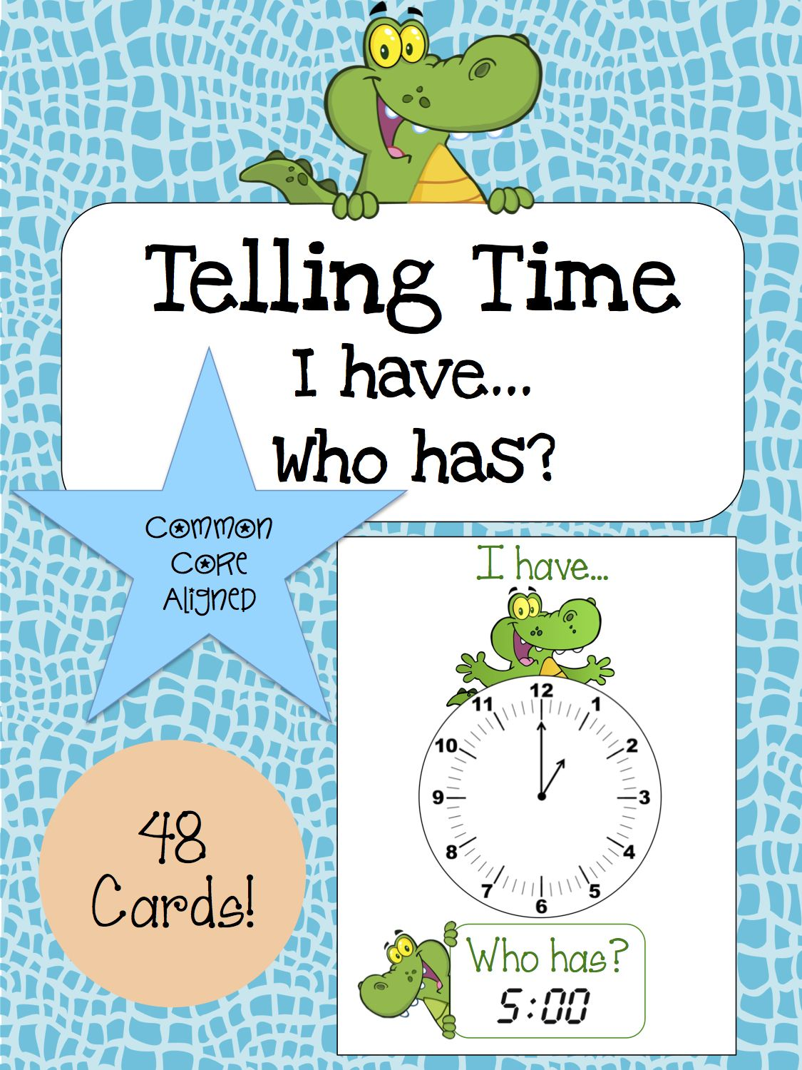 Telling Time Activity Speaking Amp Listening I Have Who