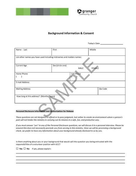 Background Check Consent Forms Tenant Criminal Background Check
