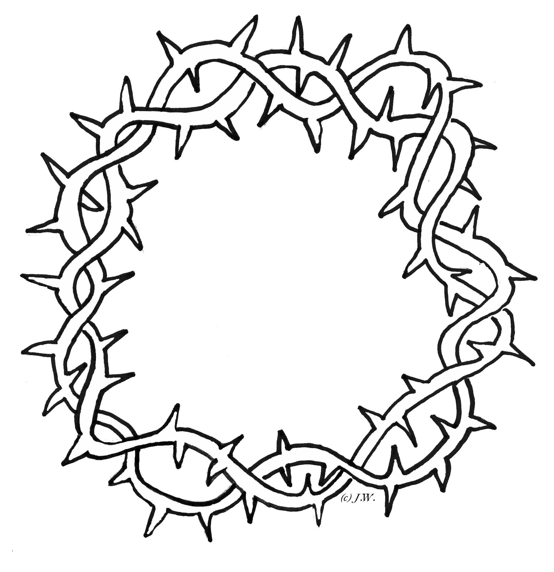 Crown Of Thorns Clipart