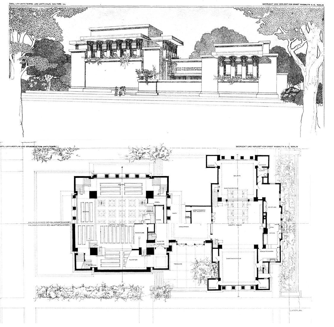 Flw Unity Temple Cf Petit Trianon Versailles