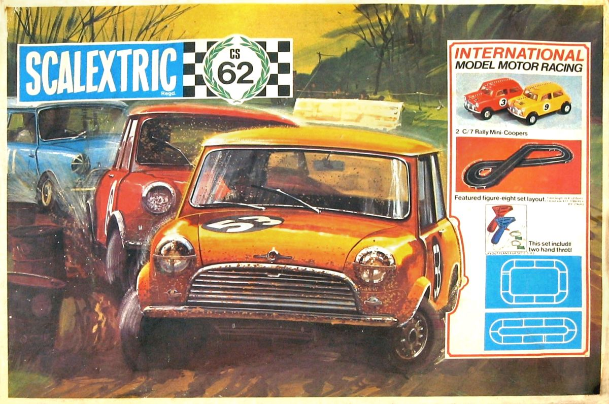 vintage scalextric had the mini set, one of the best