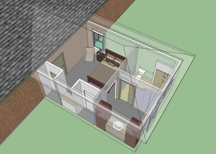 Wheelchair Accessible Mother In Law Bedroom