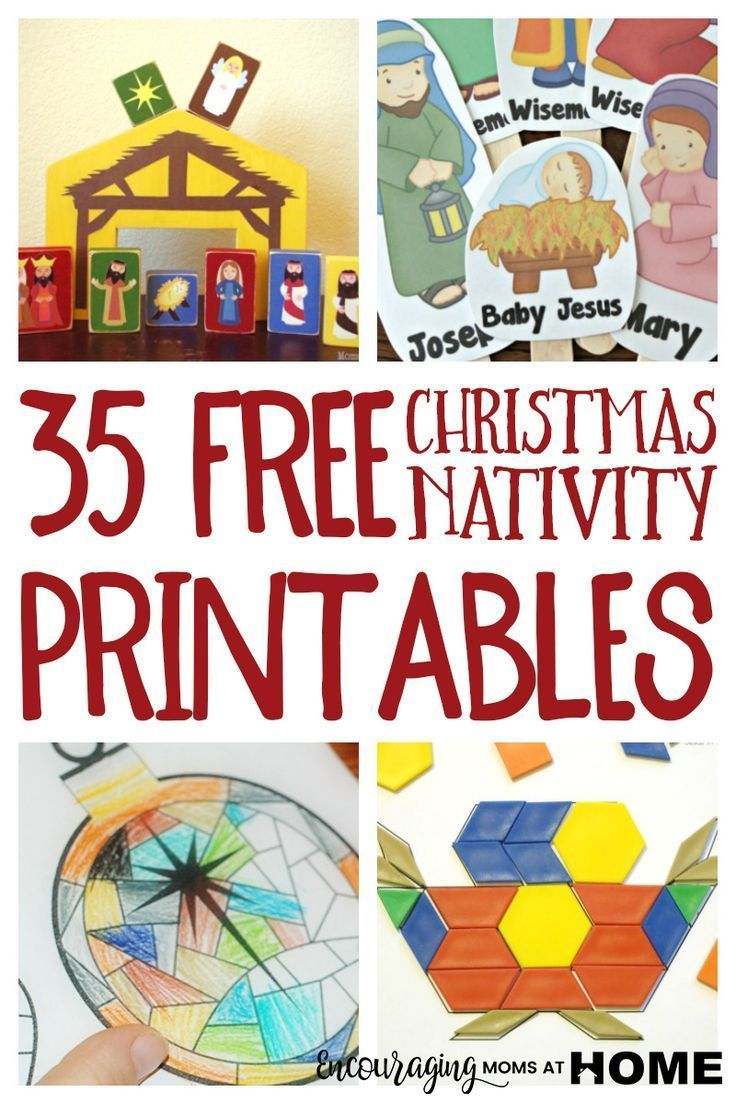 Free Christmas Nativity Printables And Coloring Pages Christmas